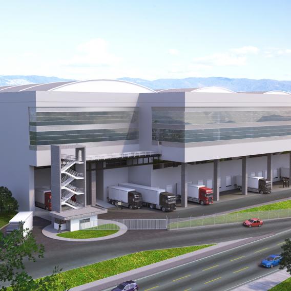 Centro logístico entrada norte